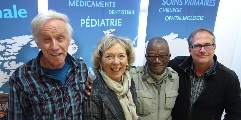 Grégoire et les Amis de Saint-Camille magasinent chez CSI