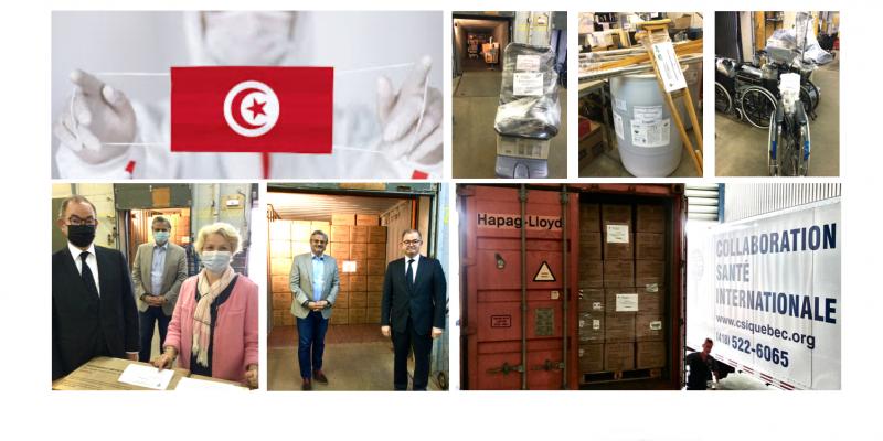 Vos dons en action pour aider la Tunisie